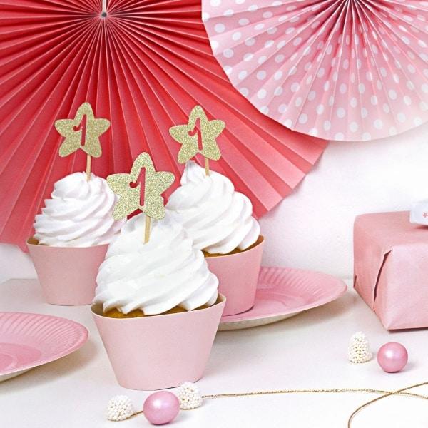 cupcake ozdoby 1 rok