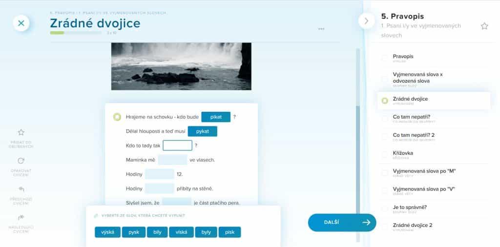 onlinejazyky procvicovani ceskeho jazyka online