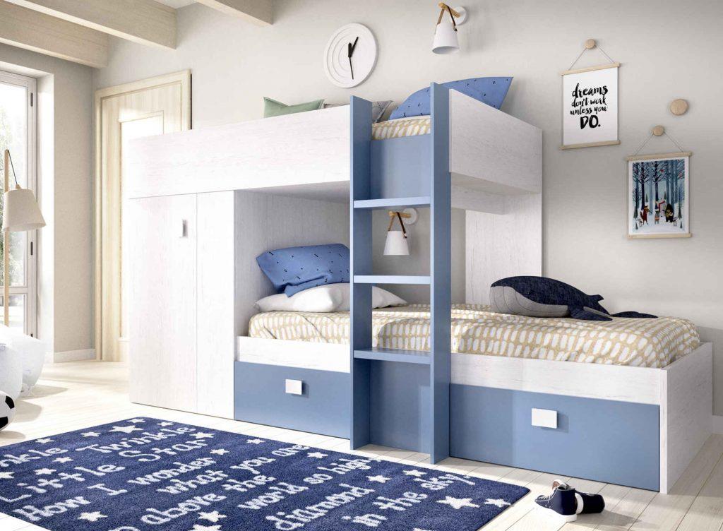 pokoj pro dva postel