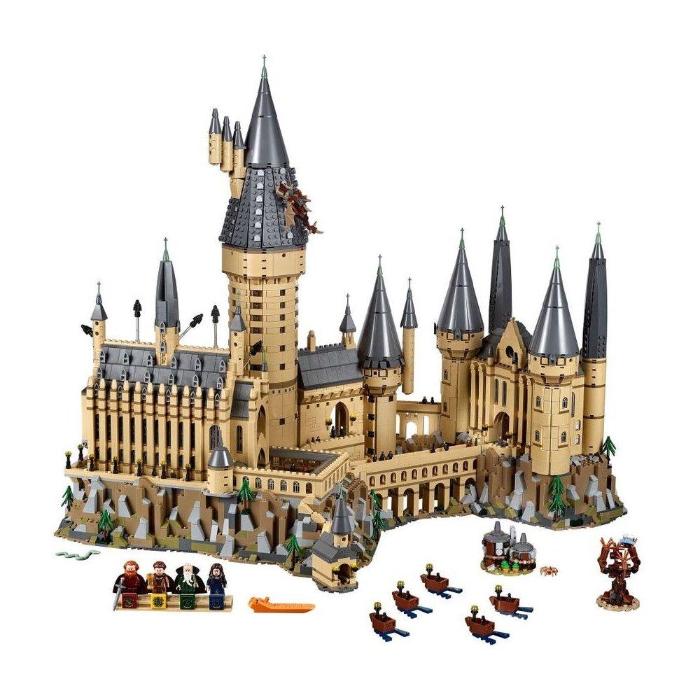 lego hrad v bradavicich