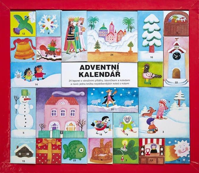 adventni kalendar pro deti leporela